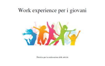 Work Experience per i giovani