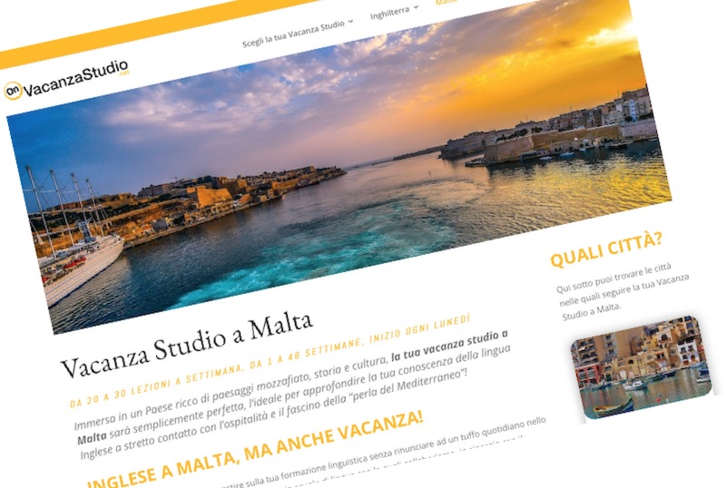 Un nuovo sito dedicato alle Vacanze Studio